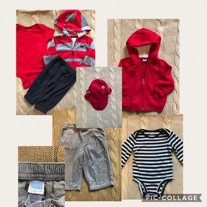 Baby Boy Bundle 3-6M